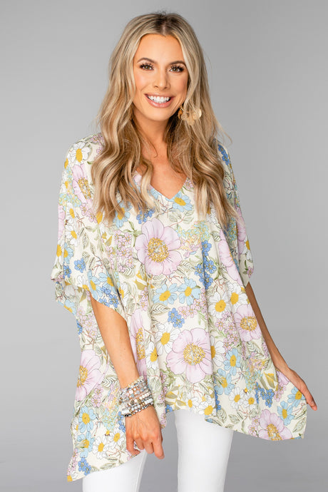 BUDDY LOVE North Flower Power Tunic