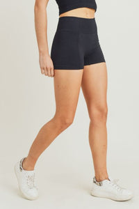 Black Active Shorts