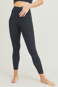 Black Recycled Leggings