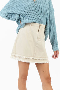 Echo Denim Skirt