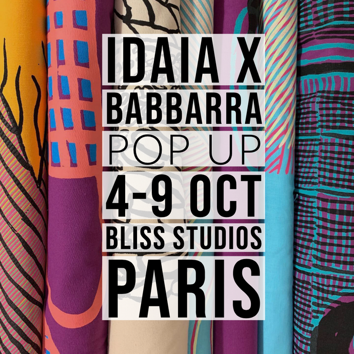 Pop Up IDAIA X BABBARRA à Paris