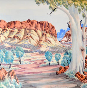 "Hubert Pareroultja - ""West MacDonnell Ranges"", 2015"