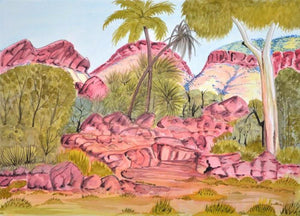 "Selma Nunay Coulthard - ""Palm Valley"", 2011"