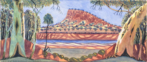 "Steven Walbungara - ""Mt Wedge-Karrinyarra"", 2012"