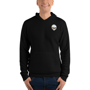 Love And Rx: Peeled Banana Life Is Love And Rx Skull Unisex Pullover hoodie - Black