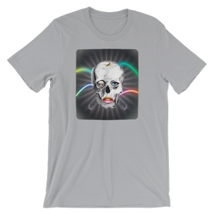 LoveAndRx: Scorpion Goddess Serqet Skull / Winged Sun Disc - Short-Sleeve Unisex T-Shirt