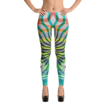 Safari Sea Centinel Skull Yoga Dance Pilates Leggings