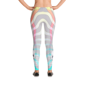 She-Male Skull Sovereignty Of The Dawn Yoga Dance Pilates Leggings