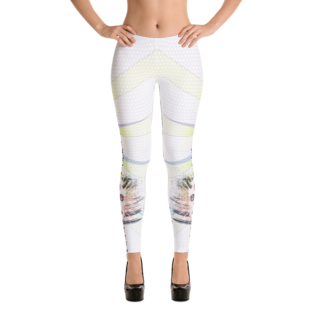 Lilith Goddess Devil Rose Skull Yoga Dance Pilates Leggings