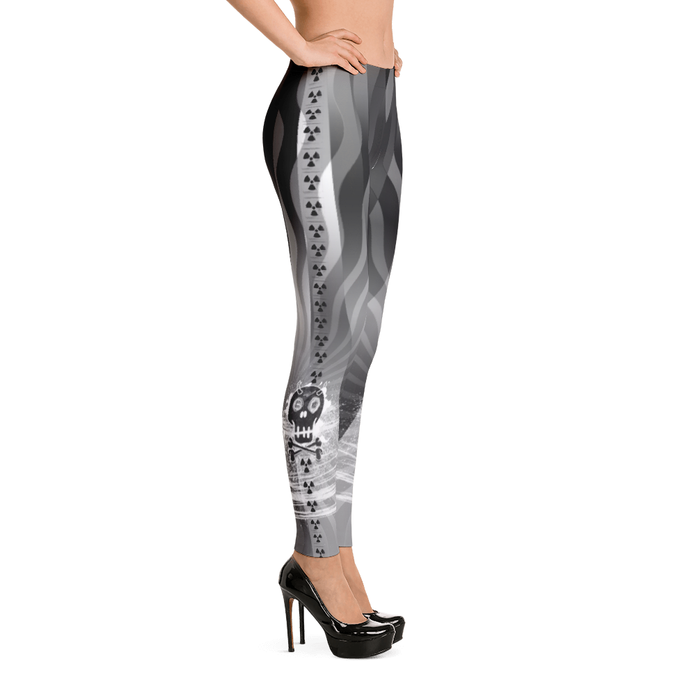 Twilight Jungle Lightning Devil Yoga Dance Pilates Leggings