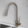 Pull-Out Dual Spray Brass Faucet