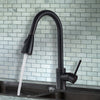 Oil Rubbed Bronze Solid Brass Kitchen Faucet