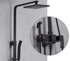 Oil Rubbed Bronze Brass Exposed Shower Faucets