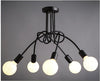 Vintage Iron Rod Modern Industrial Ceiling Lights