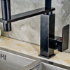 New Modern Oil Rubbed Bronze Kitchen Faucet