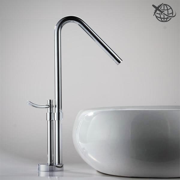 New 2017 Contemporary Design Solid Brass Vessel Sink Faucet Home