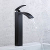 Oil Rubbed Bronze Tall Bathroom Vessel Faucet