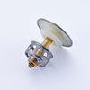 Bathroom Vessel Sink Pop up Drain Stopper Overflow Brushed Nickel