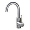 Brushed Nickel 304 Stainless Steel Basin Faucet