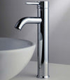 Economic Chrome Tall Bathroom Faucet