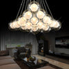Modern Creative Clear Glass Ball Chandelier