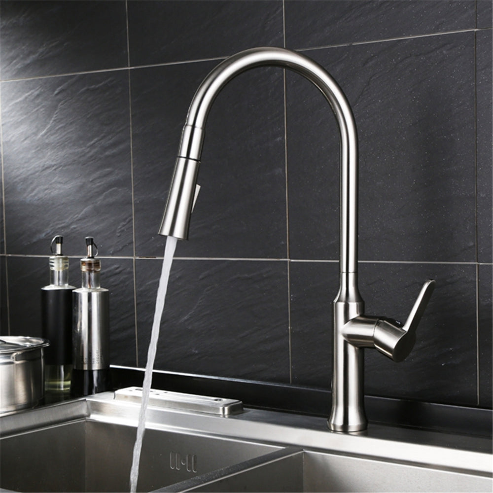Contemporary Pull-Down Kitchen Faucet - HOME Restoration Direct