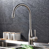 Stainless Steel Kitchen Faucet Nickel Brushed