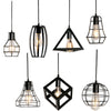 Vintage Wrought Iron Industrial Pendant Lights