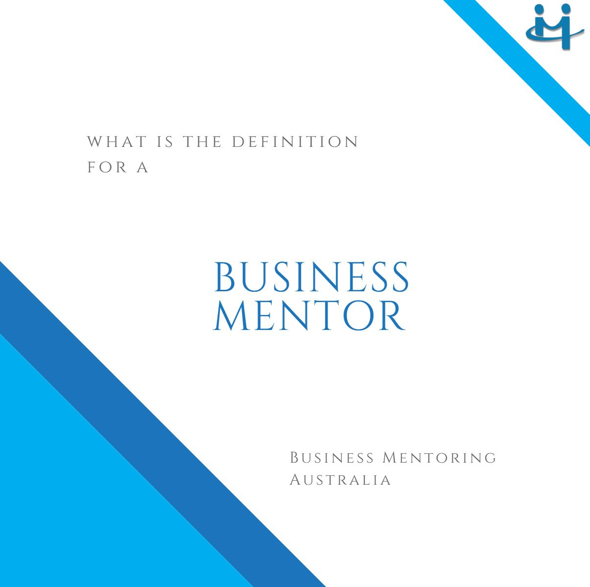 Business Mentor Definition