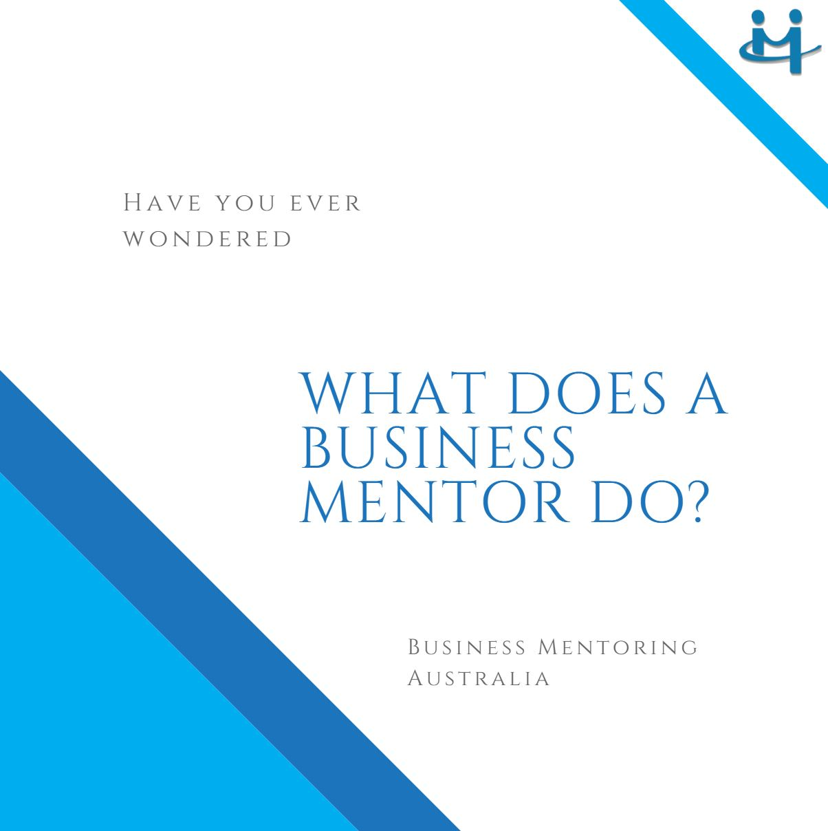 Business Mentor | What does a Business Mentor do?