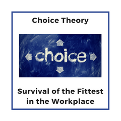 Choice Theory : Survival of the Fittest in the Workplace