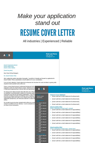 FREE Resume Template | Corporate Blue