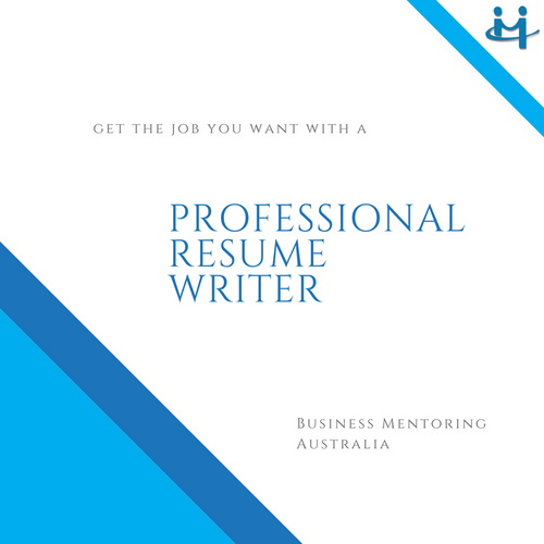 Resume Writing Services | Business Mentoring Australia