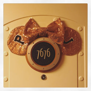 DIY Disney Cruise Mickey Ears Magnet
