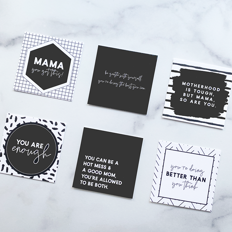 ENCOURAGING QUOTE CARDS