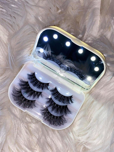 LED LASH CASE