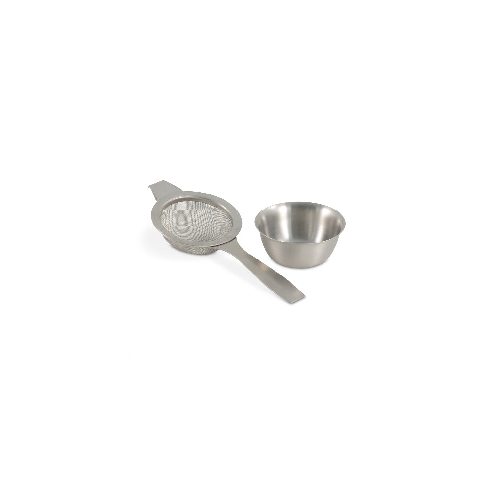 Tea Strainer Spoon with Cup