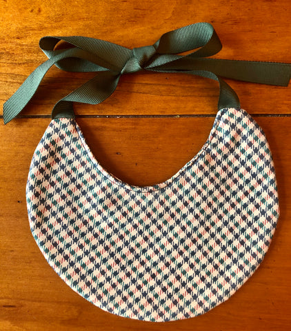 Harvest Vintage Plaid Bib