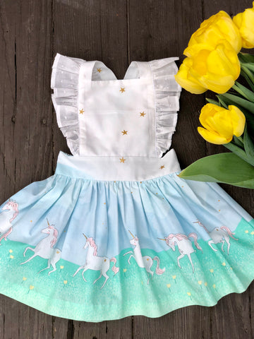 Unicorn Pinafore