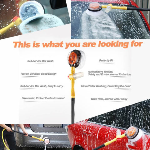 Water Powered Rotating Car Cleaning Brush Reviews
