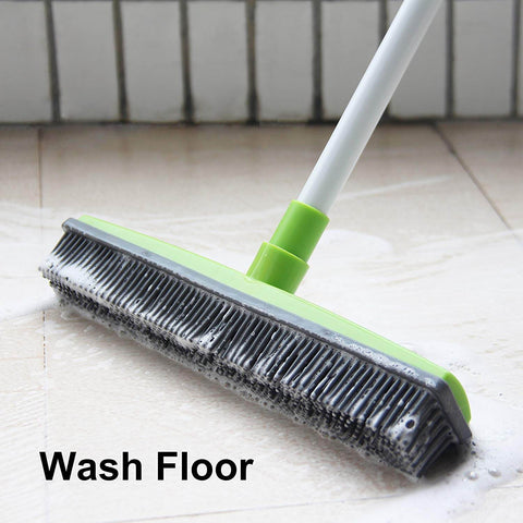 How To Use Multipurpose Rubber Broom