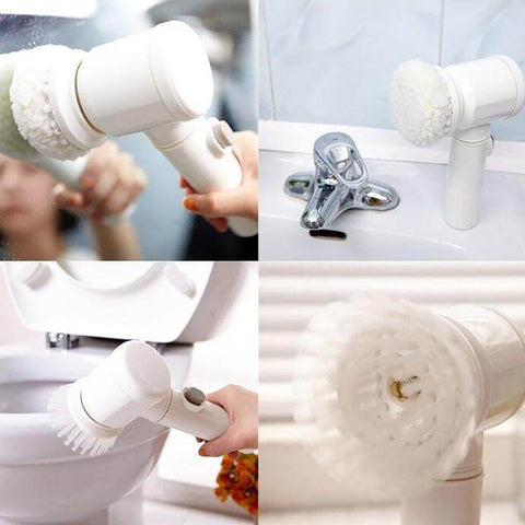 5 in 1 Magic Electric Cleaning Brush Uses