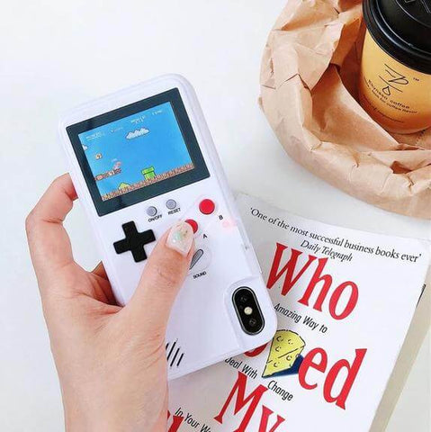 Color Display Gameboy Iphone Case