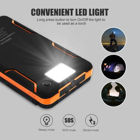 Solar Power Bank - Horizoncare.in