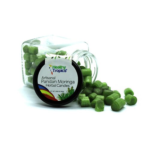 Moringa Pandan Herbal Candy