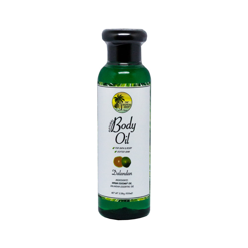 The Tropical Shop | Natural Body Oil (Dalandan)