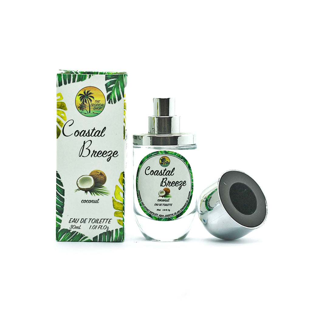 Natural Coastal Breeze Perfume - Coconut Scent
