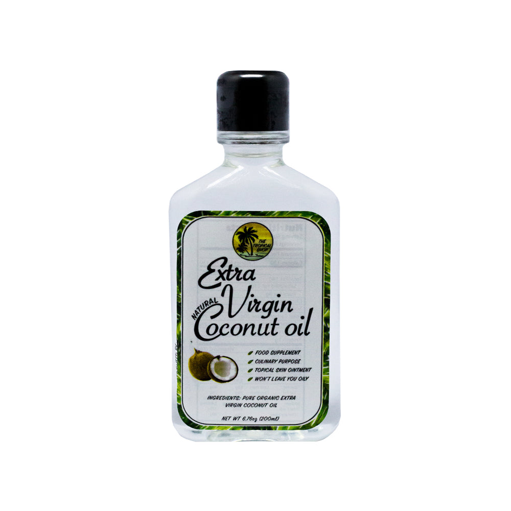 The Tropical Shop | Natural Extra Virgin Coconut Oil - 200mL