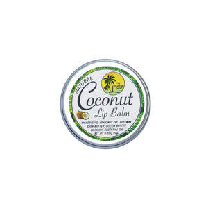 The Tropical Shop | Natural Coconut Lip Balm