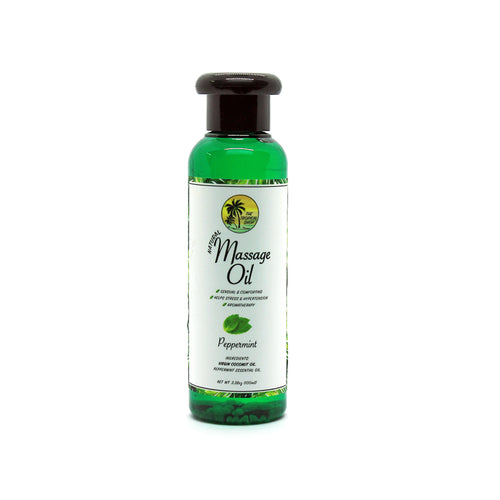 Natural Massage Oil (Peppermint)